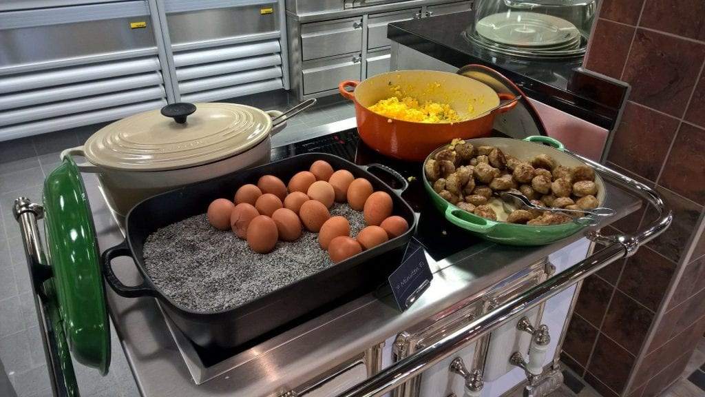 a-ja Resort Bad Saarow Frühstück