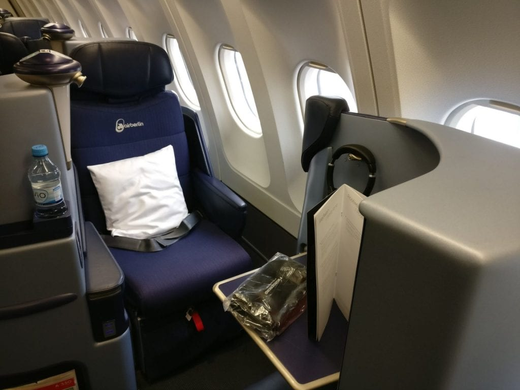airberlin Business Class Airbus A330 Seat