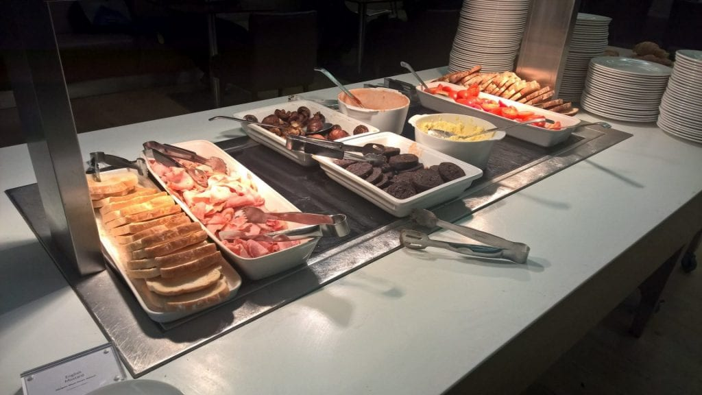 british airways galleries first class lounge london buffet 5