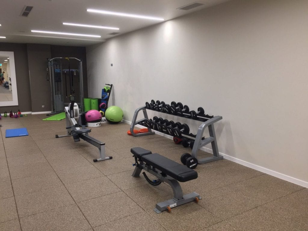 hampton by hilton krakau gym 3