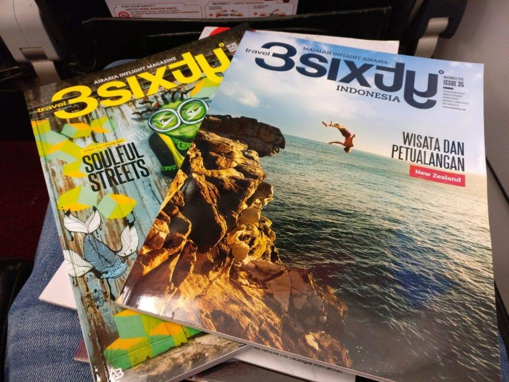 Air Asia Airbus A320 Magazine
