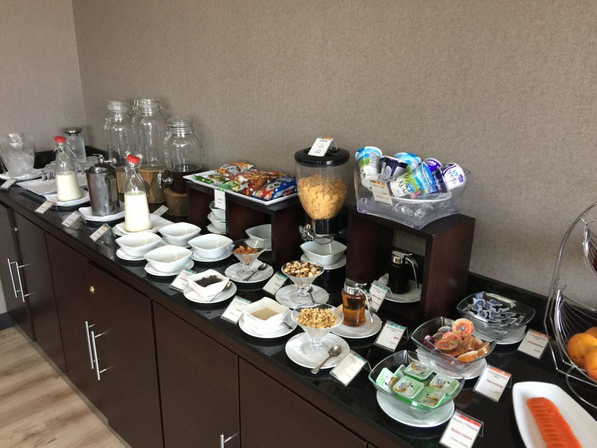 Airport VIP Lounge Frühstück 1