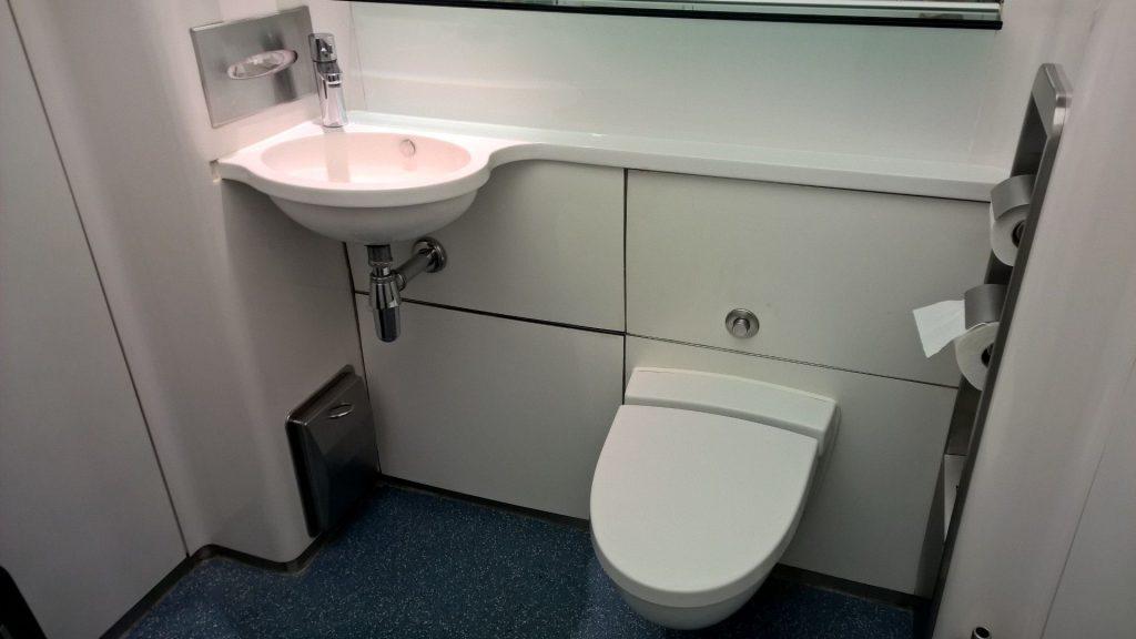 British Airways First Class Lounge London Toilette