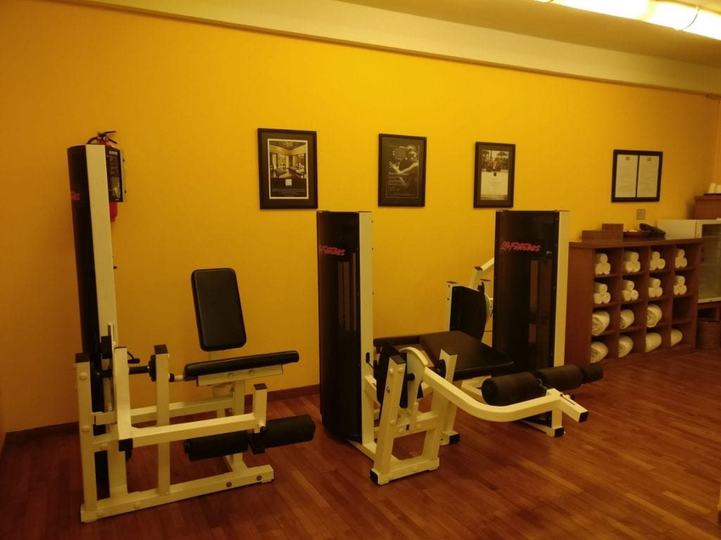 Conrad Bali Gym