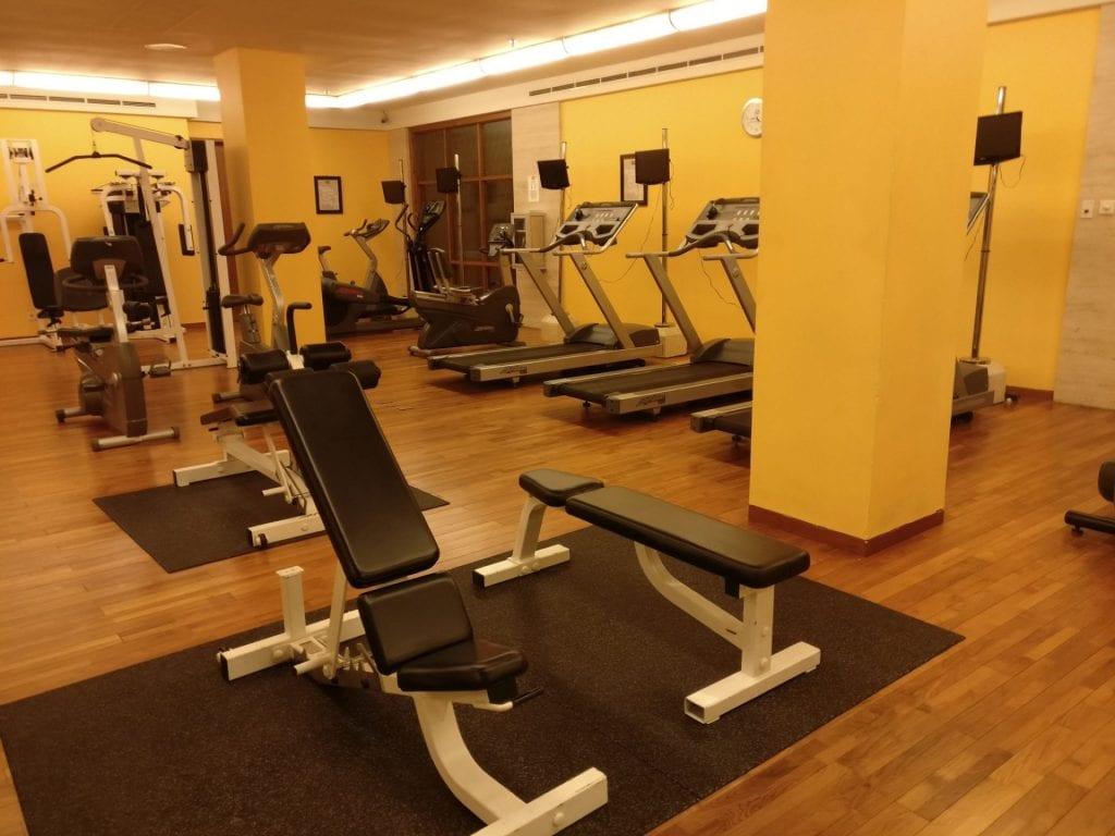 Conrad Bali Gym 3