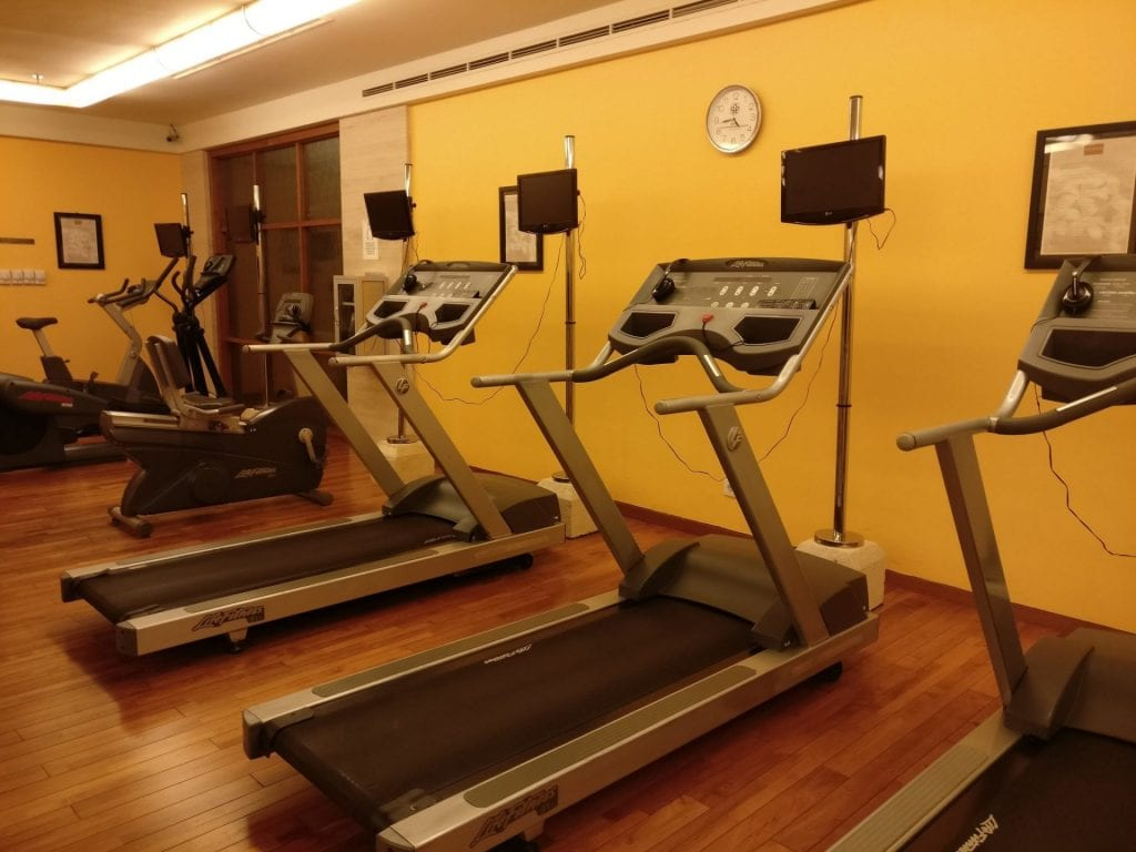 Conrad Bali Gym 4