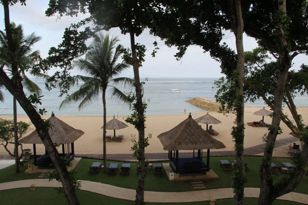 Conrad Bali King Oceanfront Room View
