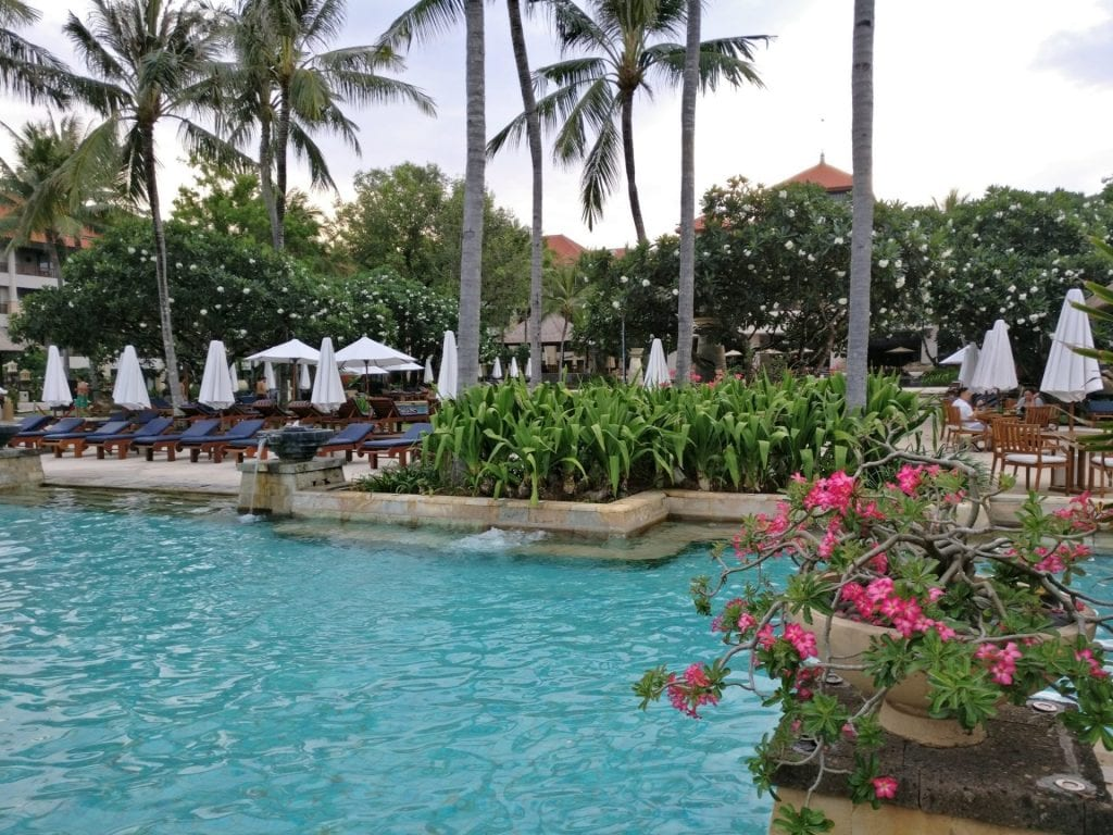 Conrad Bali Lagoon Pool 3