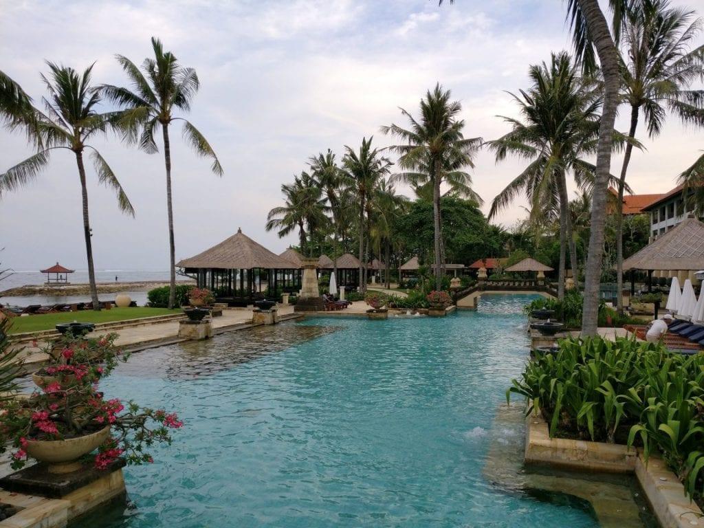 Conrad Bali Lagoon Pool 4
