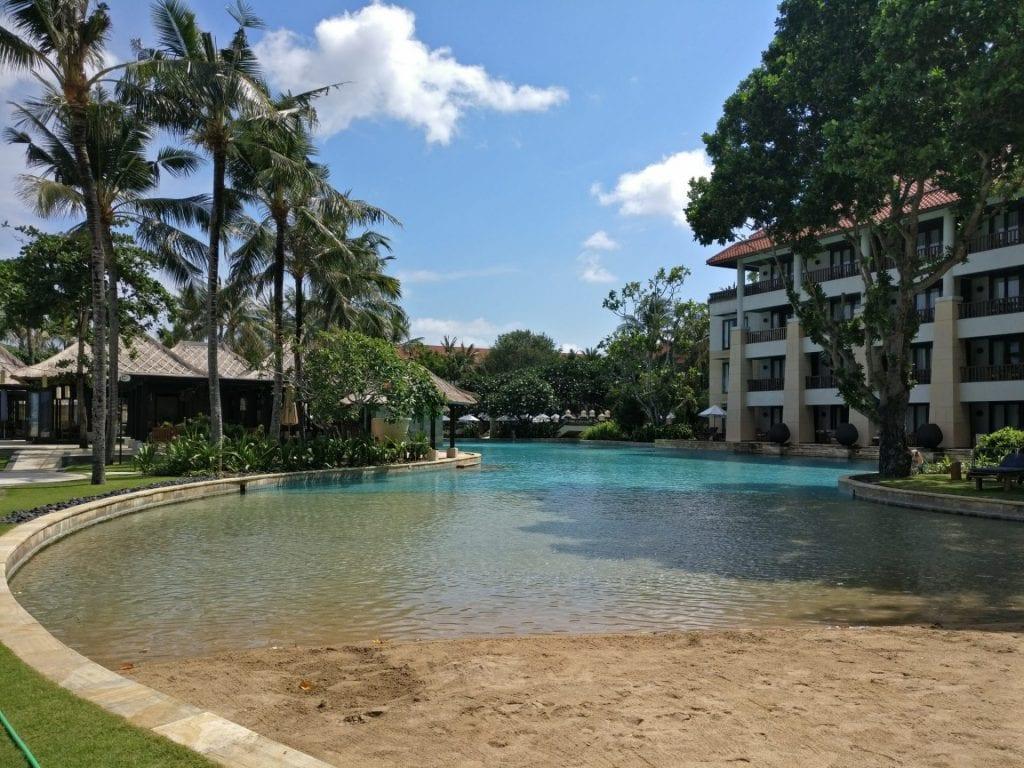 Conrad Bali Lagoon Pool 6