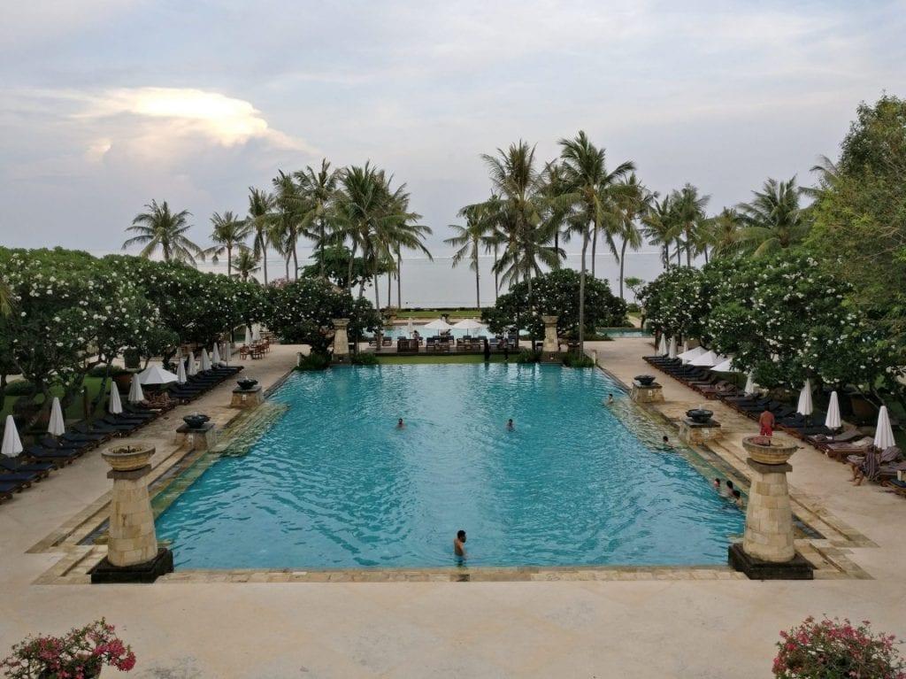 Conrad Bali Main Pool