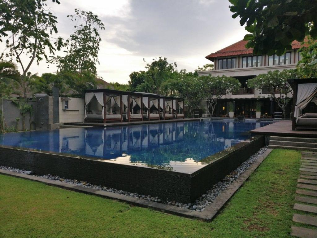 Conrad Bali Suite Pool 2