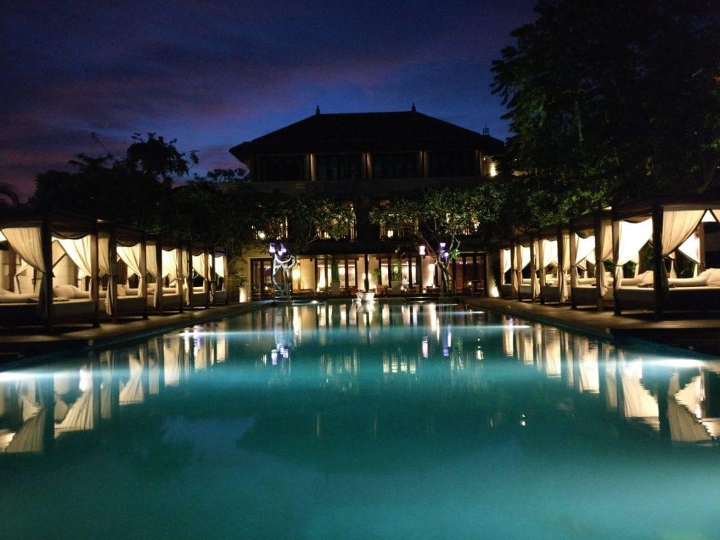Conrad Bali Suite Pool 3