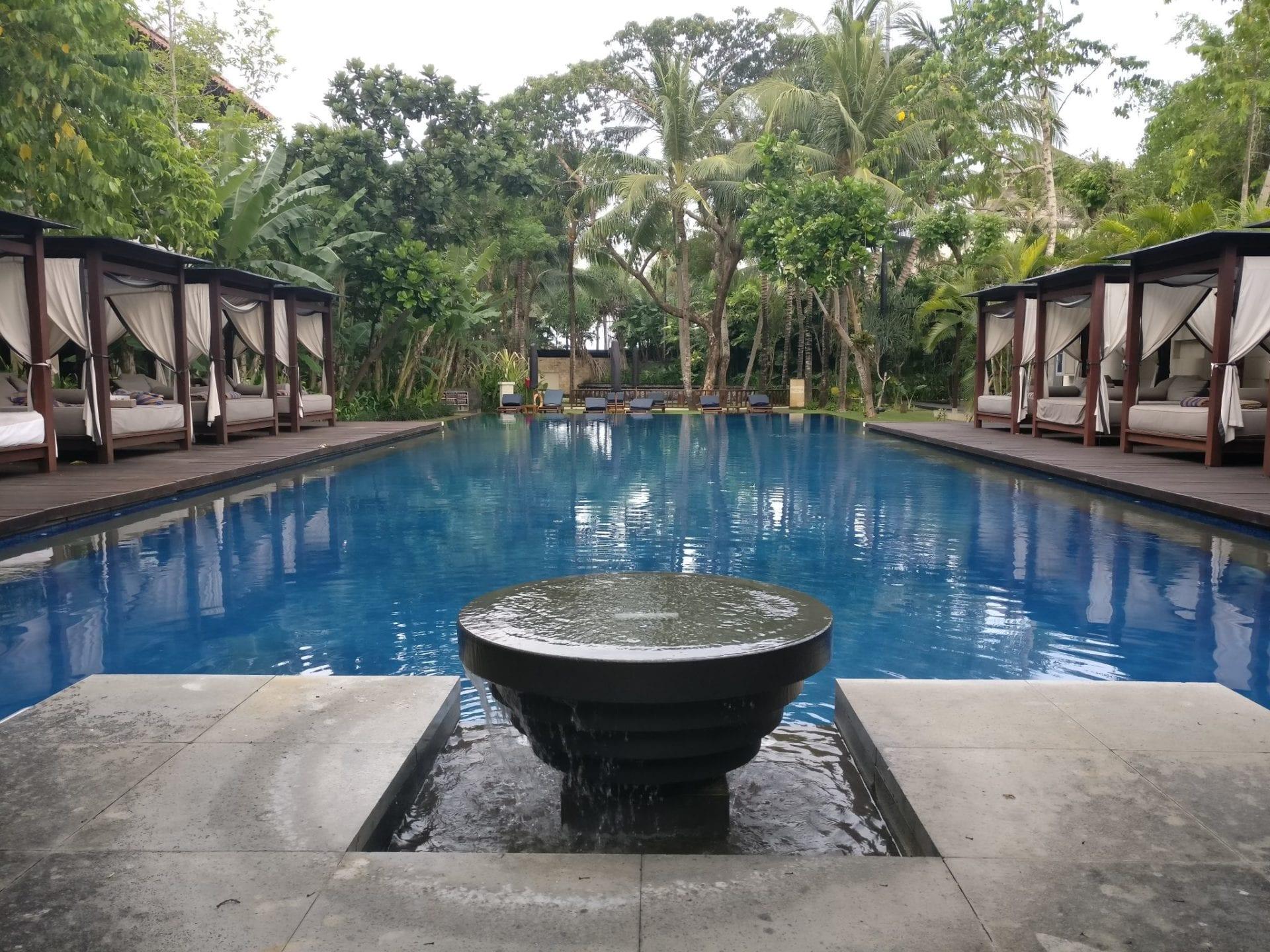 Conrad Bali Suite Pool
