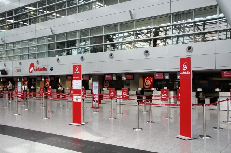 Düsseldorf Airport airberlin