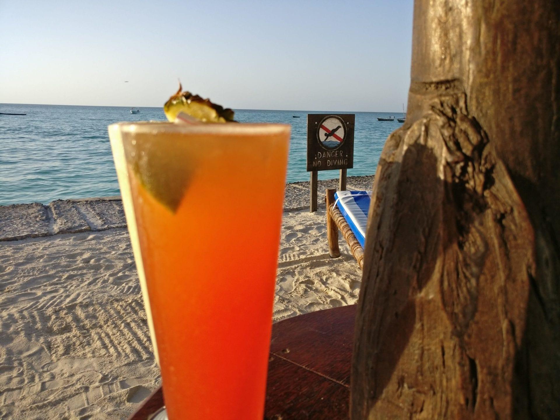 DoubleTree Resort Zanzibar Nungwi Dinner Cocktail
