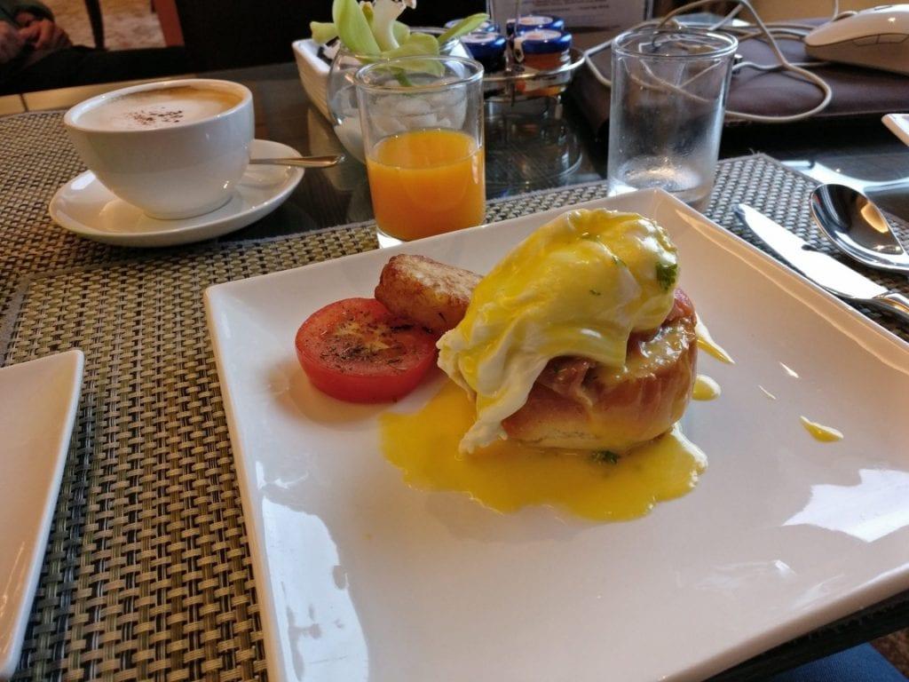 Hilton Petaling Jaya Executive Lounge Breakfast