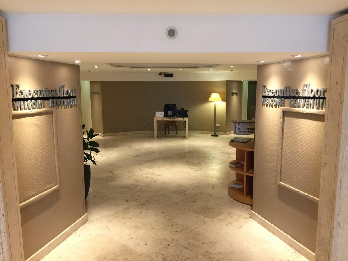 Hilton Rome Airport Executive Etage
