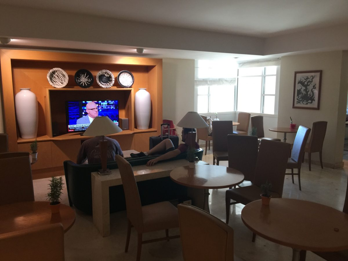 Hilton Rome Airport Executive Lounge Einrichtung