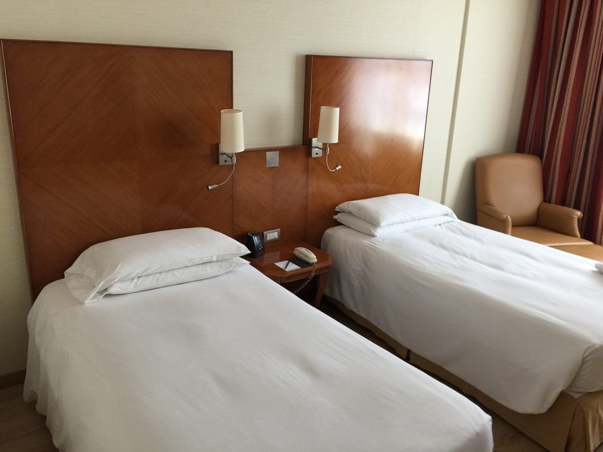 Hilton Rome Airport Executive Zimmer 3