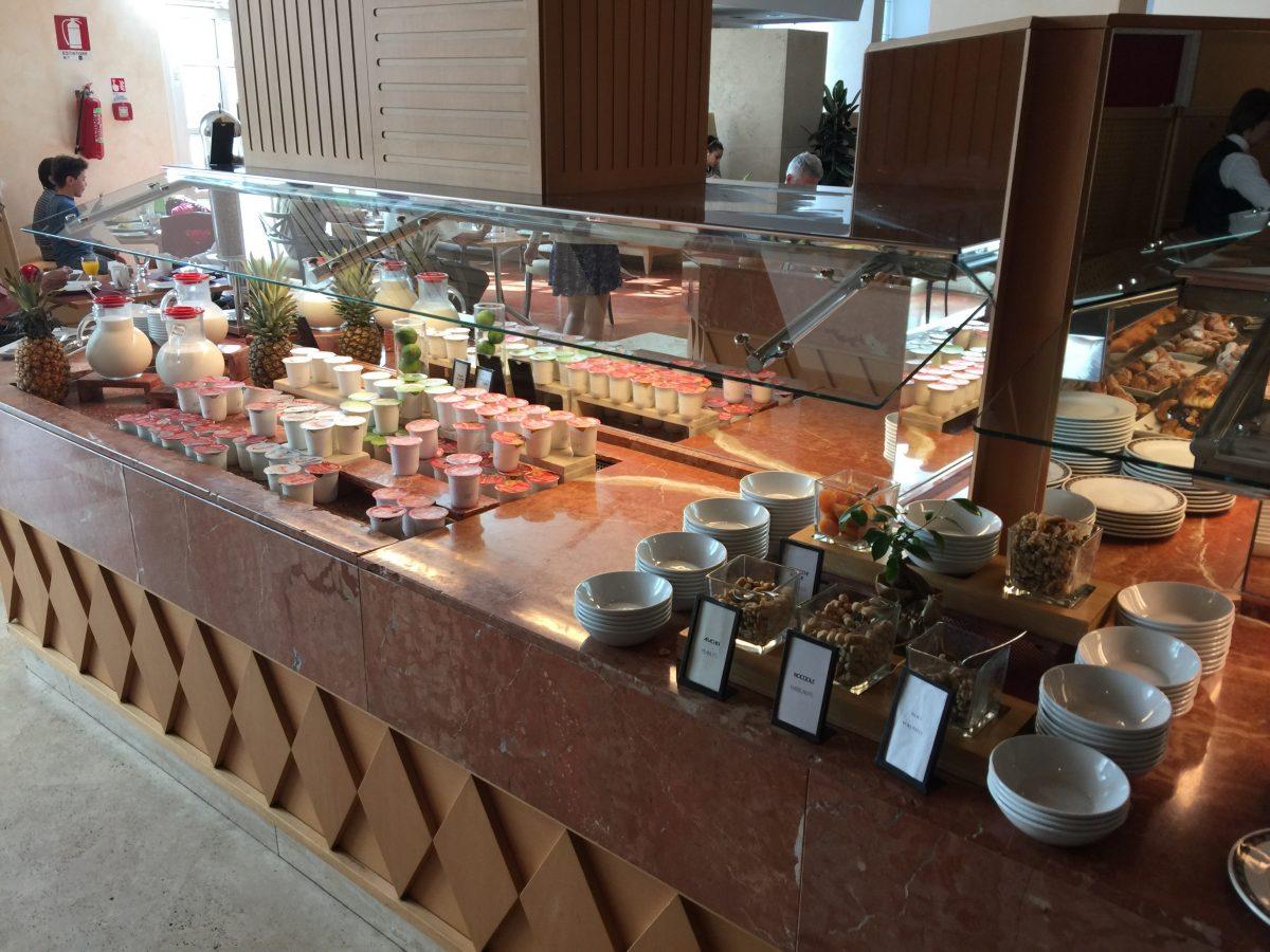 Hilton Rome Airport Frühtücksbuffet 6