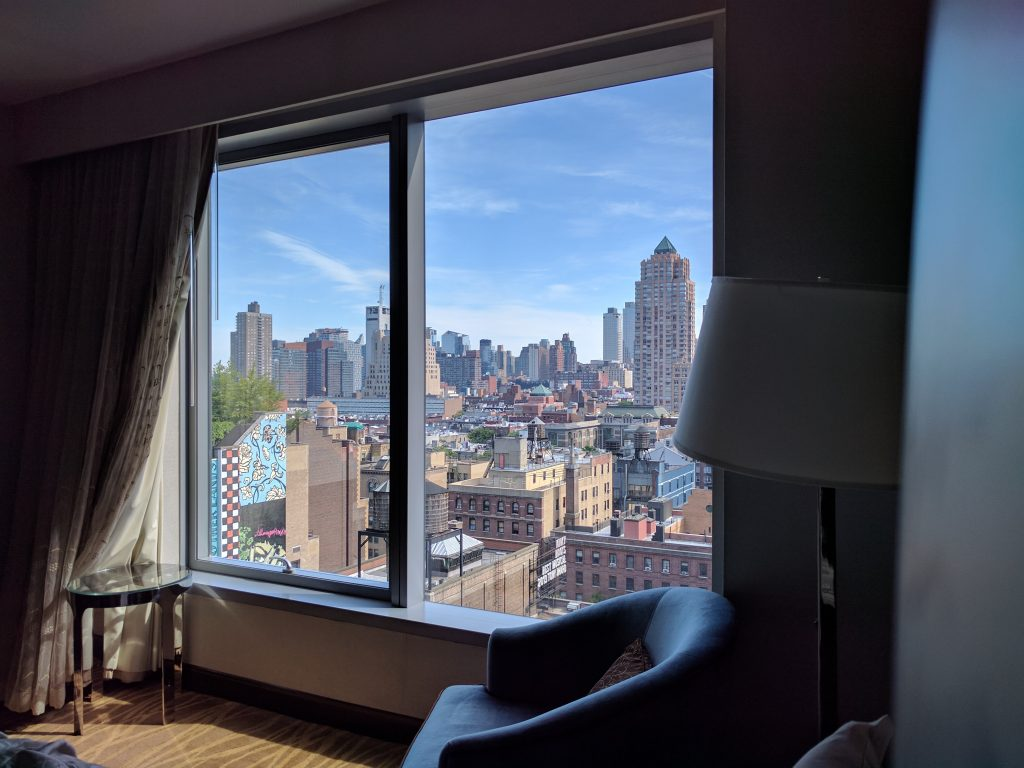 Intercontinental new york times square zimmer view
