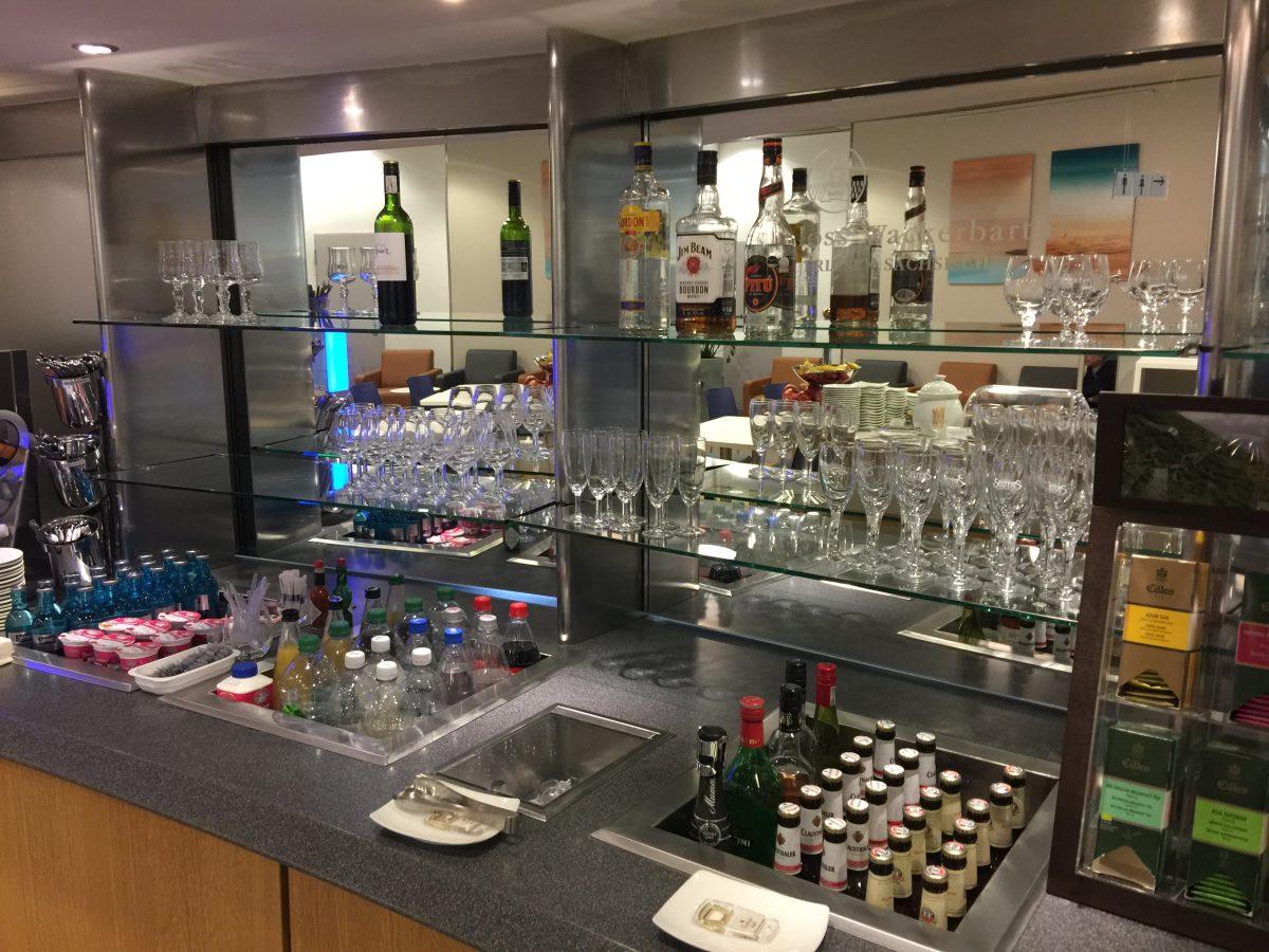 Lufthansa Business Lounge Dresden Buffet 4