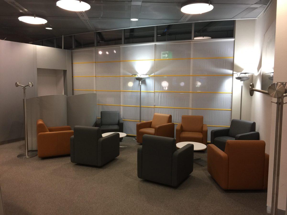 Lufthansa Business Lounge Dresden Einrichtung 3