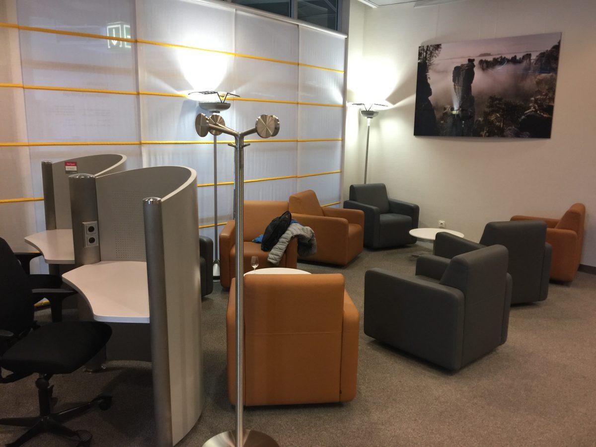 Lufthansa Business Lounge Dresden Einrichtung 5