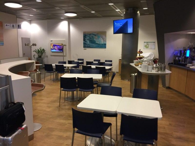 Lufthansa Business Lounge Dresden Einrichtung