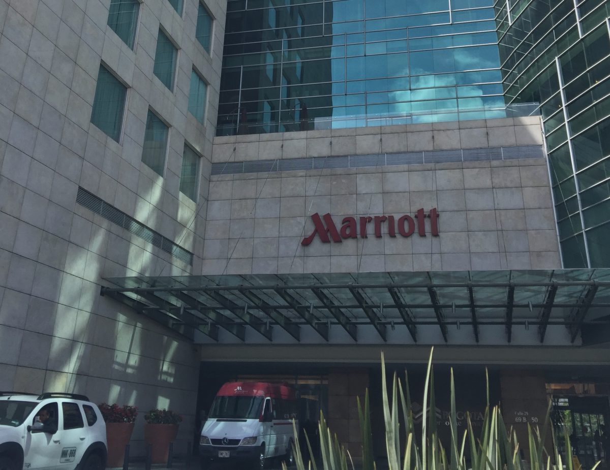 Marriott Bogota Eingang