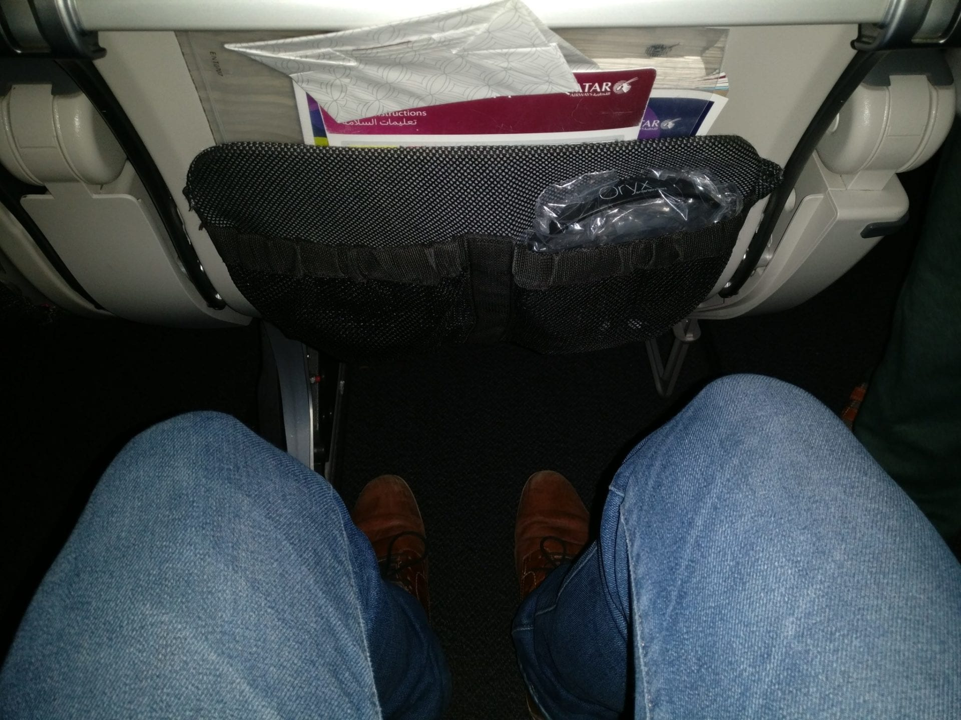 Qatar Airways Economy Class Boeing 777 Seat Pitch