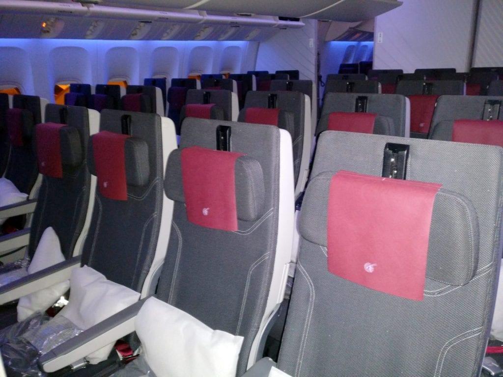 Qatar Airways Economy Class Boeing 777 Seating 2
