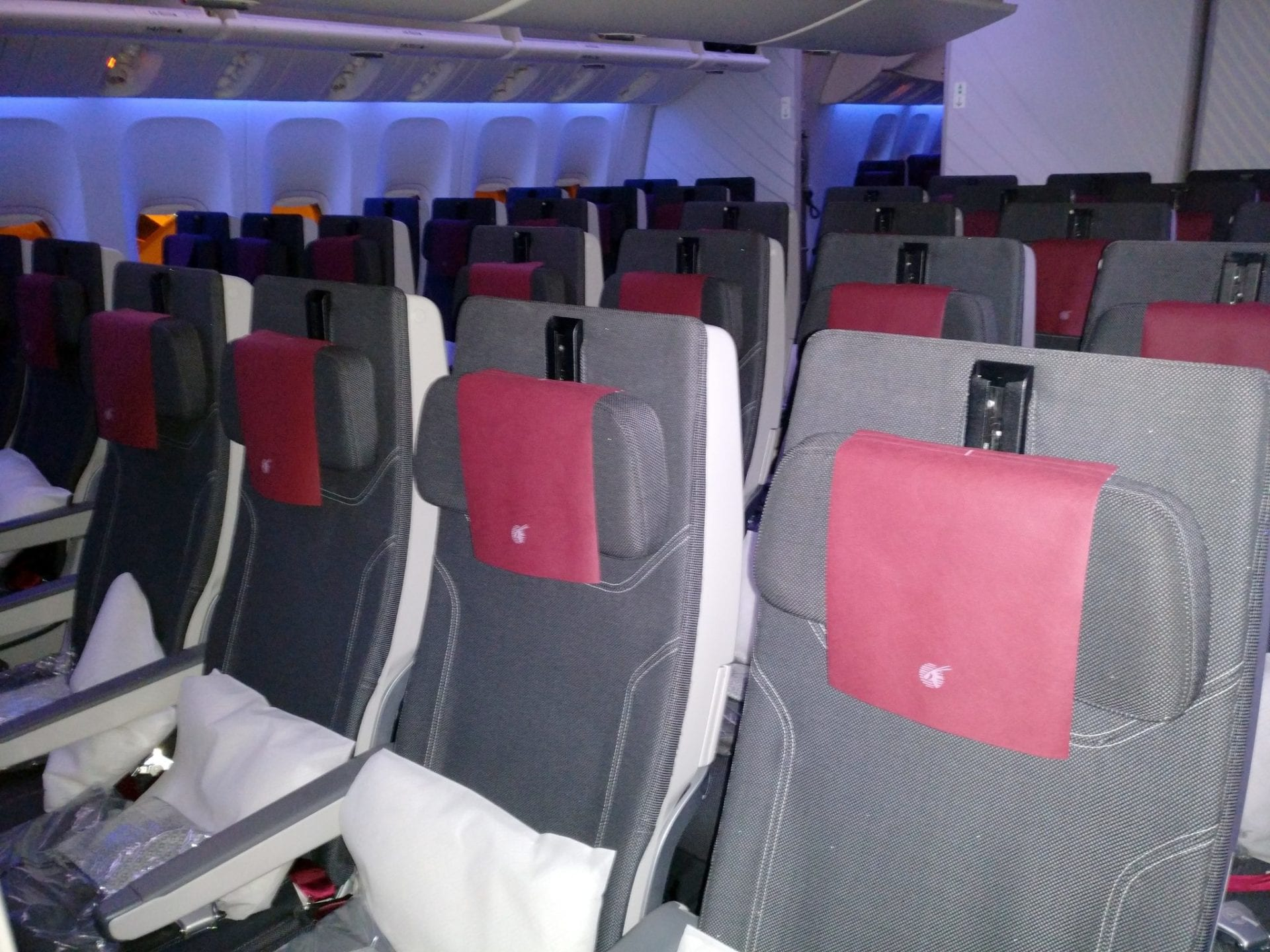 Qatar Airways Economy Class Boeing 777 Seating 2