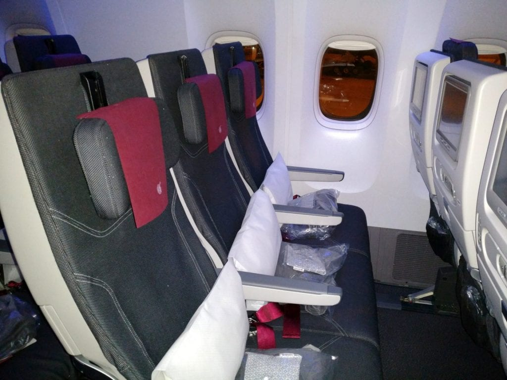 Qatar Airways Economy Class Boeing 777 Seating 3