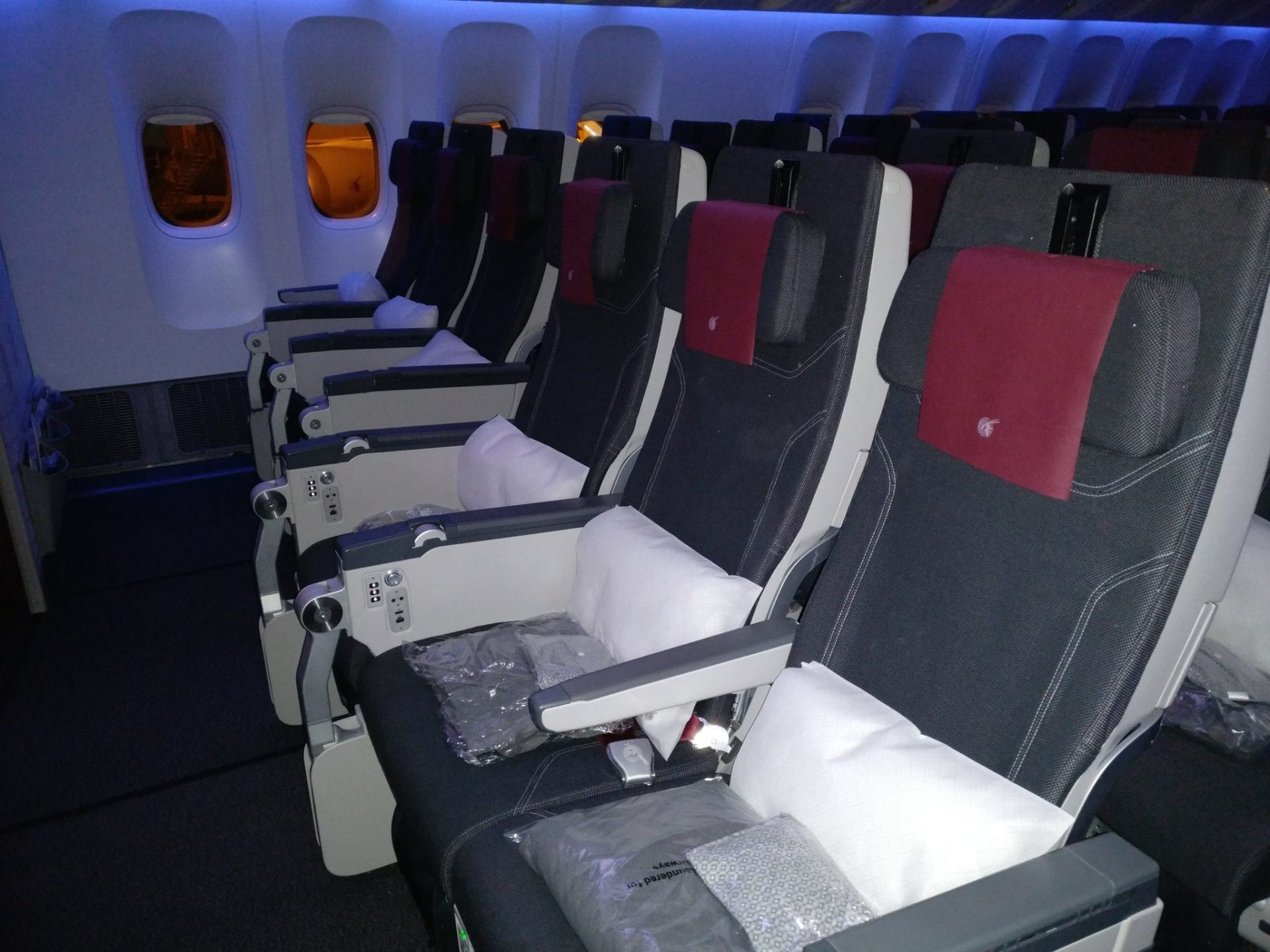 Qatar Airways Economy Class Boeing 777 Seating 7