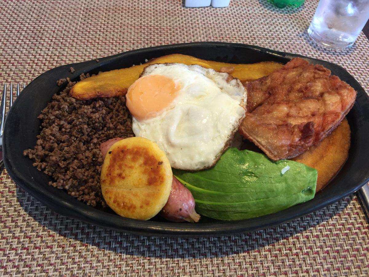 Radisson Bogota Airport Restaurant Hauptspeiße