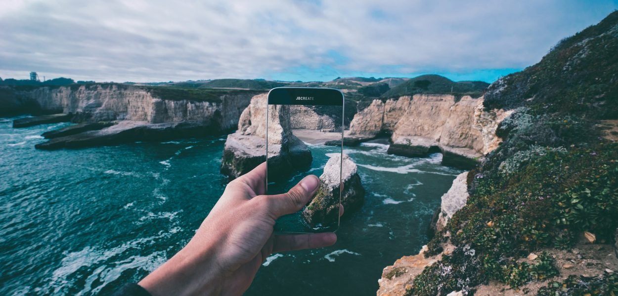 Smartphone Reise