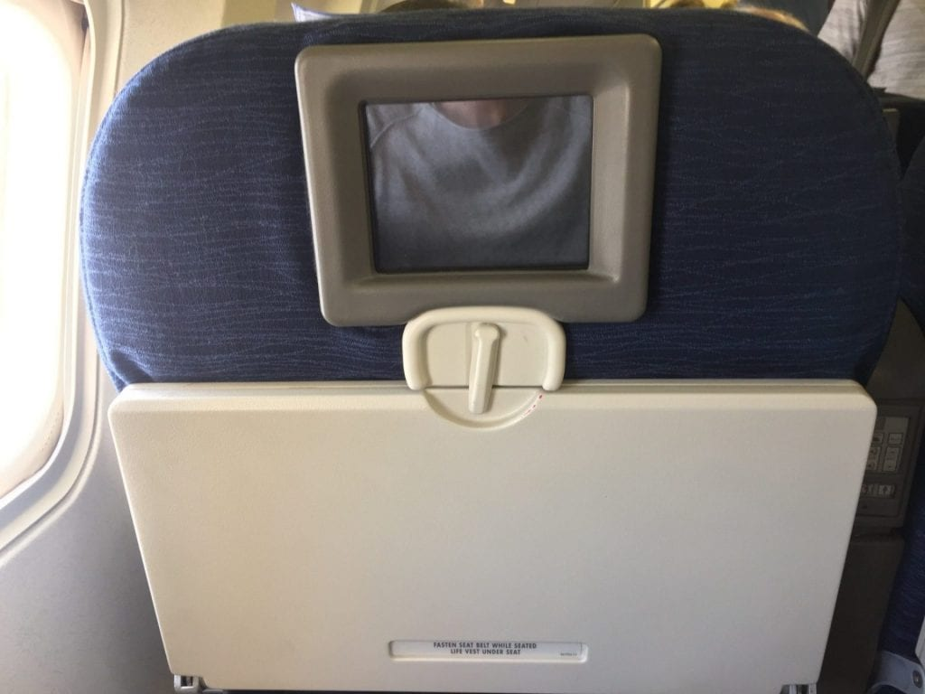 united economy class langstrecke entertainment 4