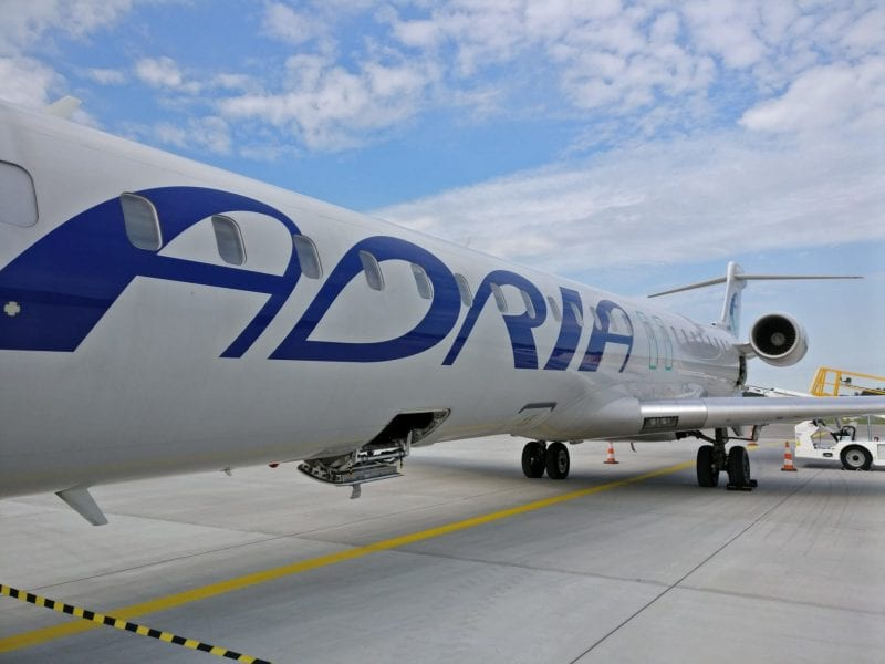 Adria Airways CRJ 900 2