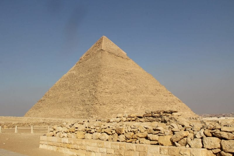 Chephren Pyramid 7