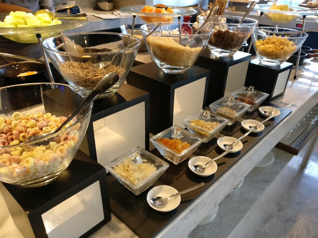 Conrad Manila Executive Lounge Breakfast 5
