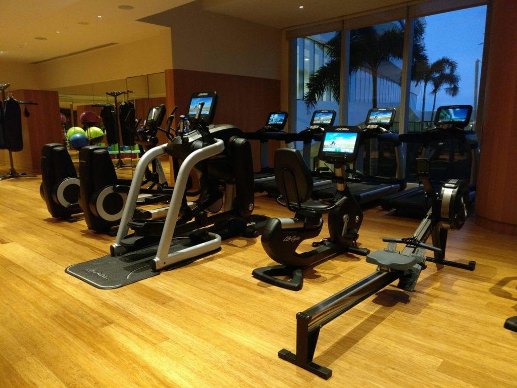 Conrad Manila Gym 2