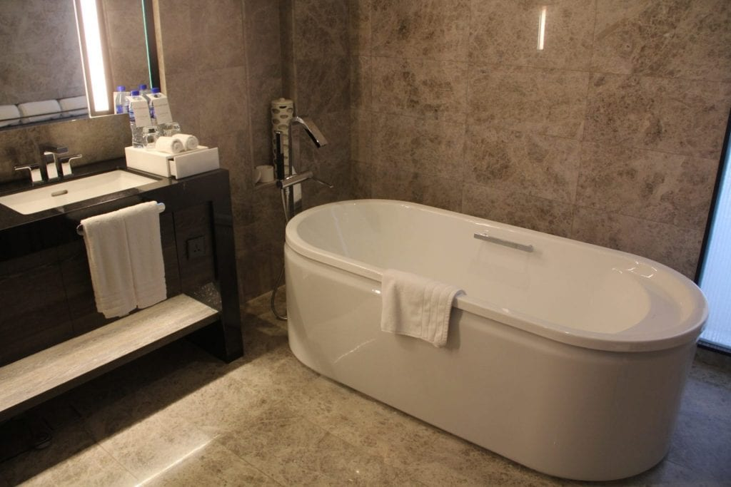 Conrad Manila King Premier Suite Bathroom 2