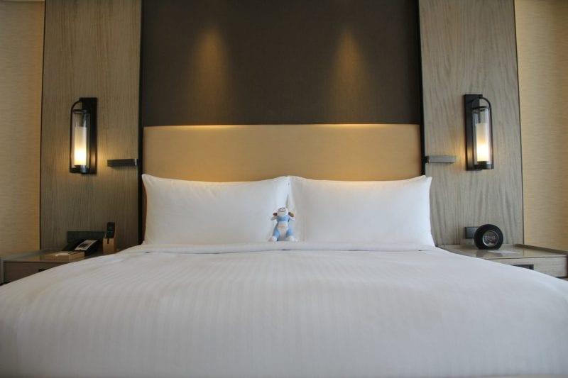 Conrad Manila King Premier Suite Bedroom 2