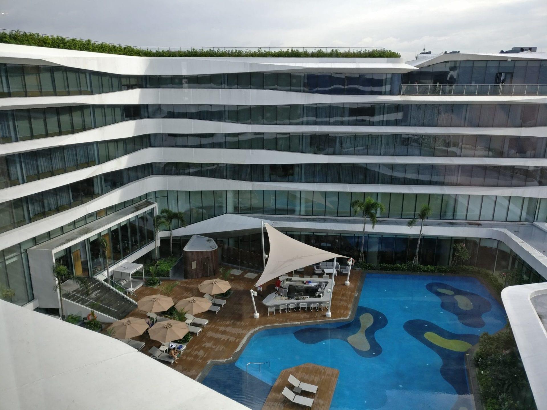 Conrad Manila Pool 2