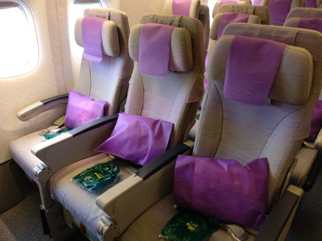 Emirates Economy Class Boeing 777 Seating 2