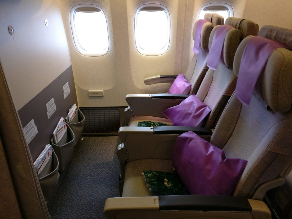 Emirates Economy Class Boeing 777 Seating 3