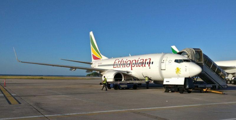 Ethiopian Airlines Boeing 737 700