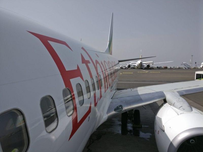 Ethiopian Airlines Boeing 737